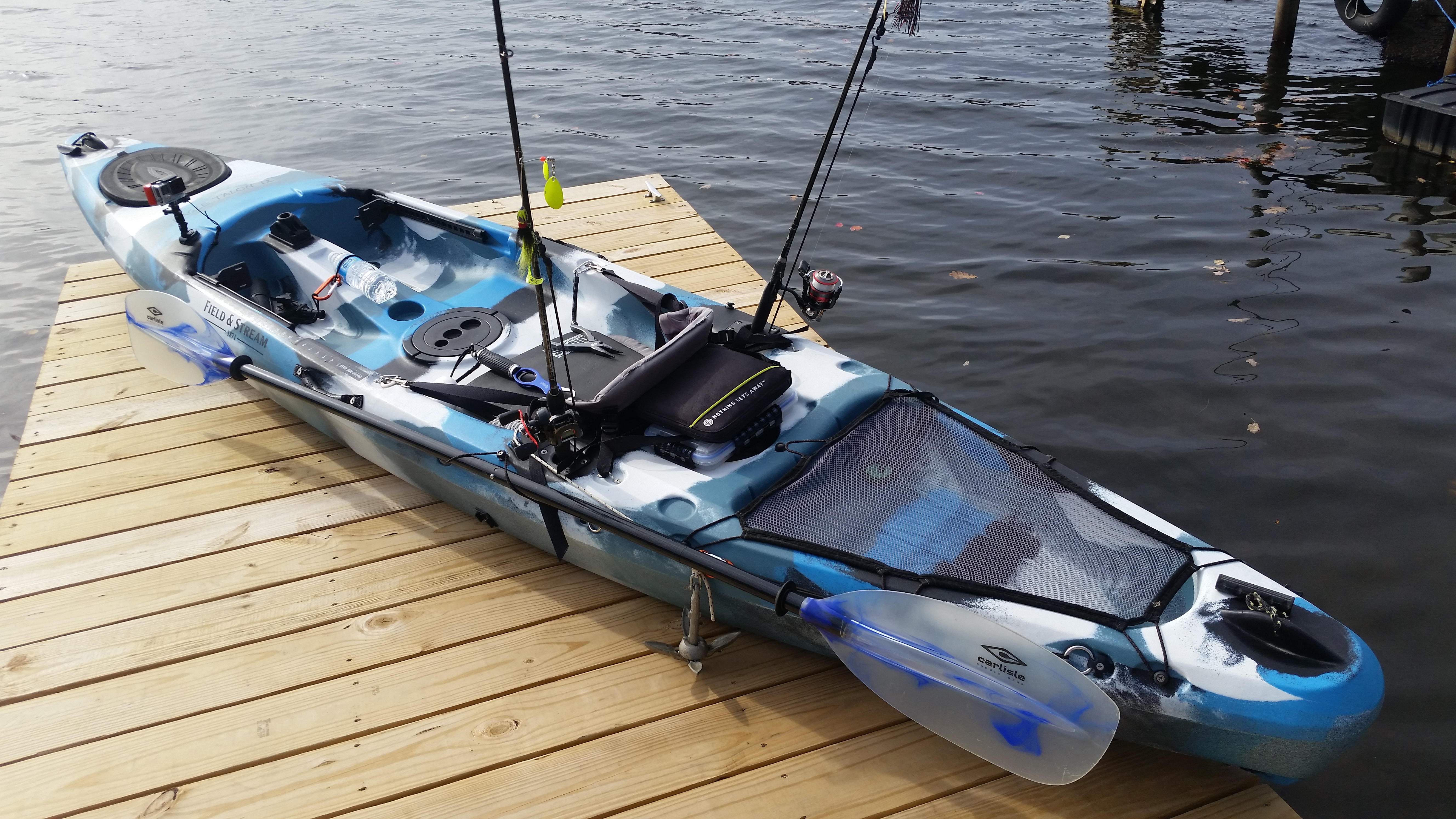 field stream eagle talon kayak review fishin 39 edition